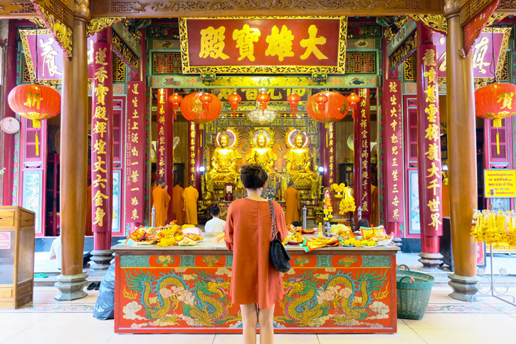 Leng Noei Yi Temple | Chinese New Year in Bangkok | Bangkok Food Tours