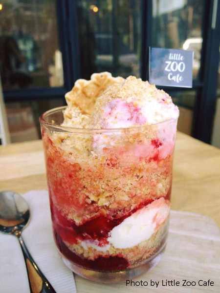 Little Zoo Cafe_Strawberry Lover | Instagramable cafes in Bangkok | Bangkok Food Tours