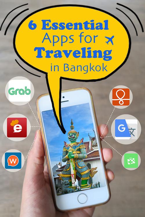 Vertical poster | App for Traveling in Bangkok | Bangkok Food Tours