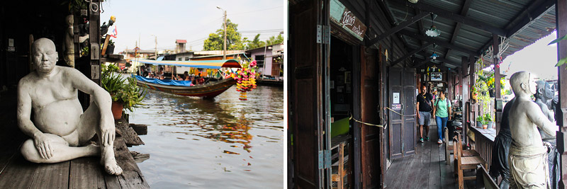 Artist House Art Gallery (1) | Canal tour in Bangkok | Bangkok Food Tours