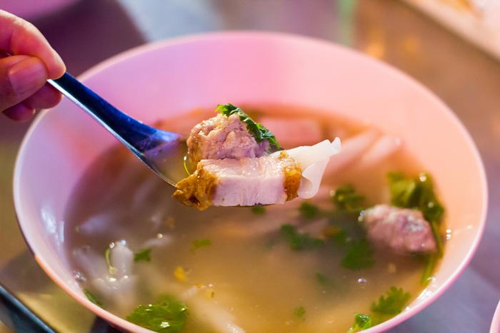 Pig Organs in Peppery Soup   Chinatown food tour in Bangkok   Bangkok Food Tours