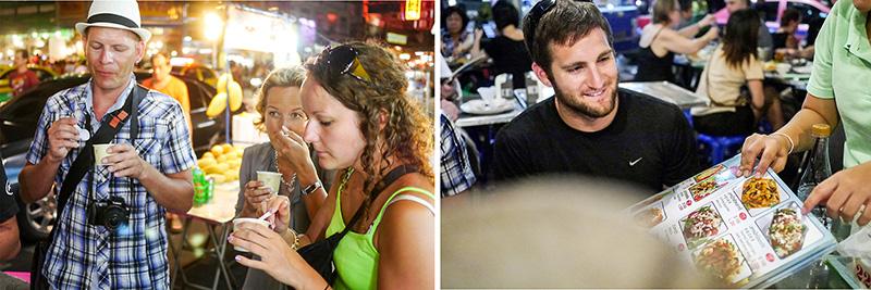 Customers   Chinatown food tour in Bangkok   Bangkok Food Tours