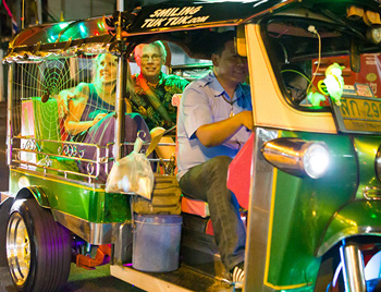 Bangkok Best Eats Midnight Food Tour by Tuk Tuk
