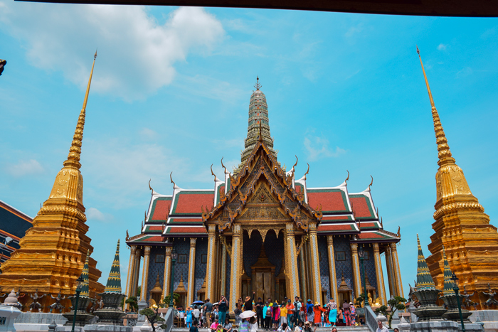 Prasat Phra Debidorn at the Grand Palace | Bangkok in 3 days | Bangkok Food Tours
