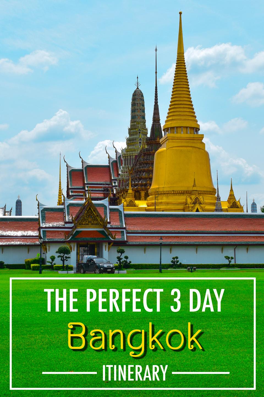 Vertical poster | Bangkok in 3 days | Bangkok Food Tours